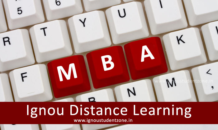 Ignou Distance MBA admission