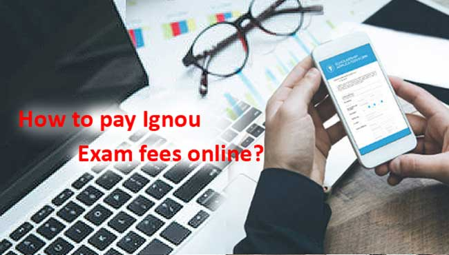 How to pay ignou exam fees online ?