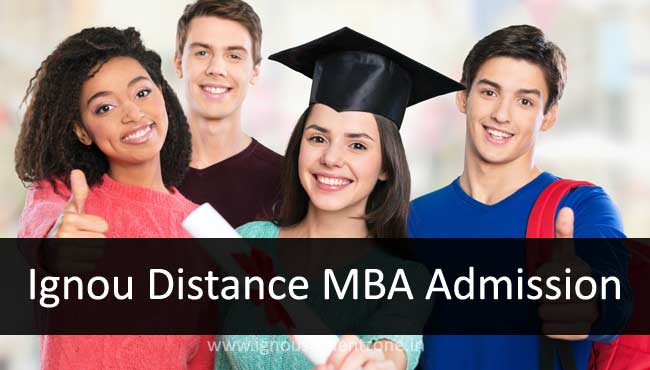 Admission to Ignou Distance MBA