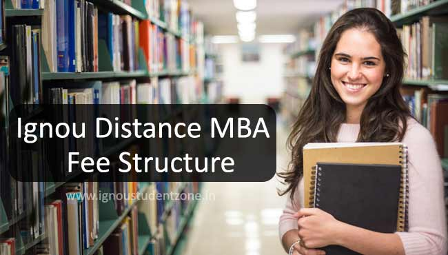 IGNOU MBA fee structure