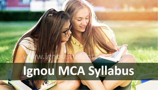 Ignou MCA Syllabus & Courses