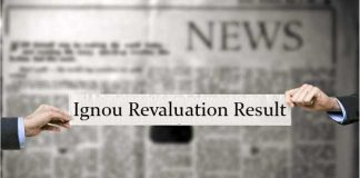 Ignou revaluation result