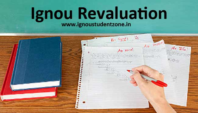 Ignou revaluation