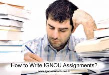 How to write Ignou assignments ?