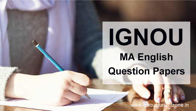 Ignou MEG Question Papers