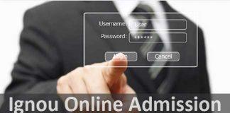 Apply for Ignou online admission