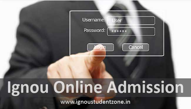 Apply for Ignou online admission