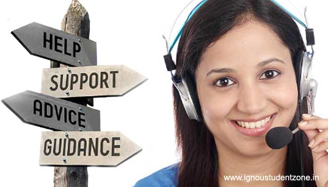 Ignou Support contact number
