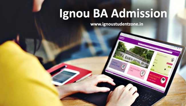 Ignou BA Admission 2017