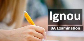 Ignou BA examination