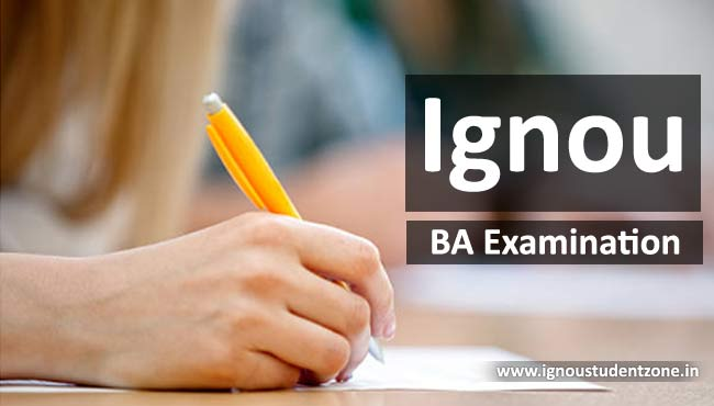Ignou BA examination