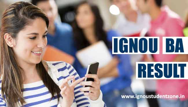 Ignou BA result