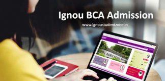 Ignou BCA admission