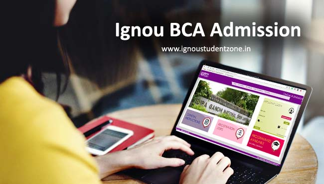 Ignou BCA admission