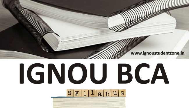 Ignou BCA Syllabus & Courses