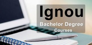 Ignou Bachelor Degree Courses