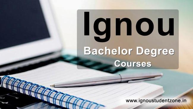 Ignou Bachelor Degree Courses