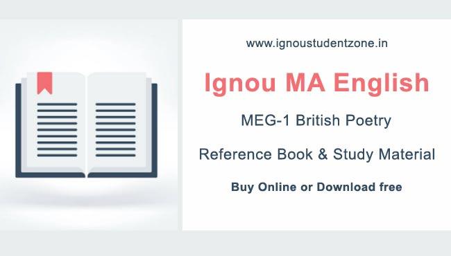 Ignou MEG 1 Book