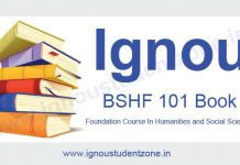 buy ignou bshf 101 book online