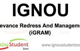 Ignou Grievances Cell and Status