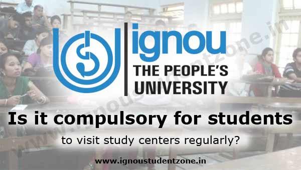 visit ignou study centre