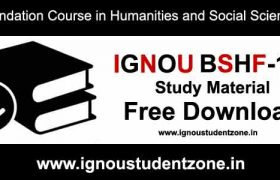 Ignou bshf 101 pdf free download study material