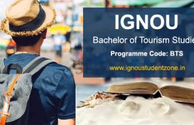 Ignou Bachelor of Arts in Tourism Studies programme guide