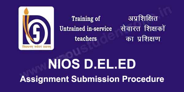 nios deled assignment submission