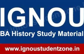IGNOU BA History Books