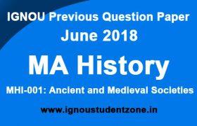 IGNOU MHI 1 June 2018 question paper