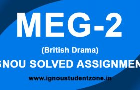 IGNOU MEG 2 Solved Assignment