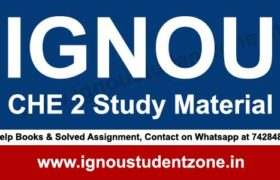 ignou che 2 study material & books free download