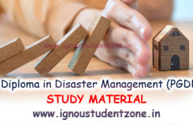 IGNOU PGDDM Study Material Free Download PDF