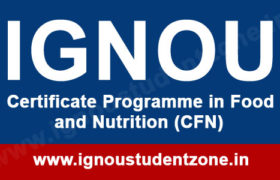 IGNOU CFN Question Paper